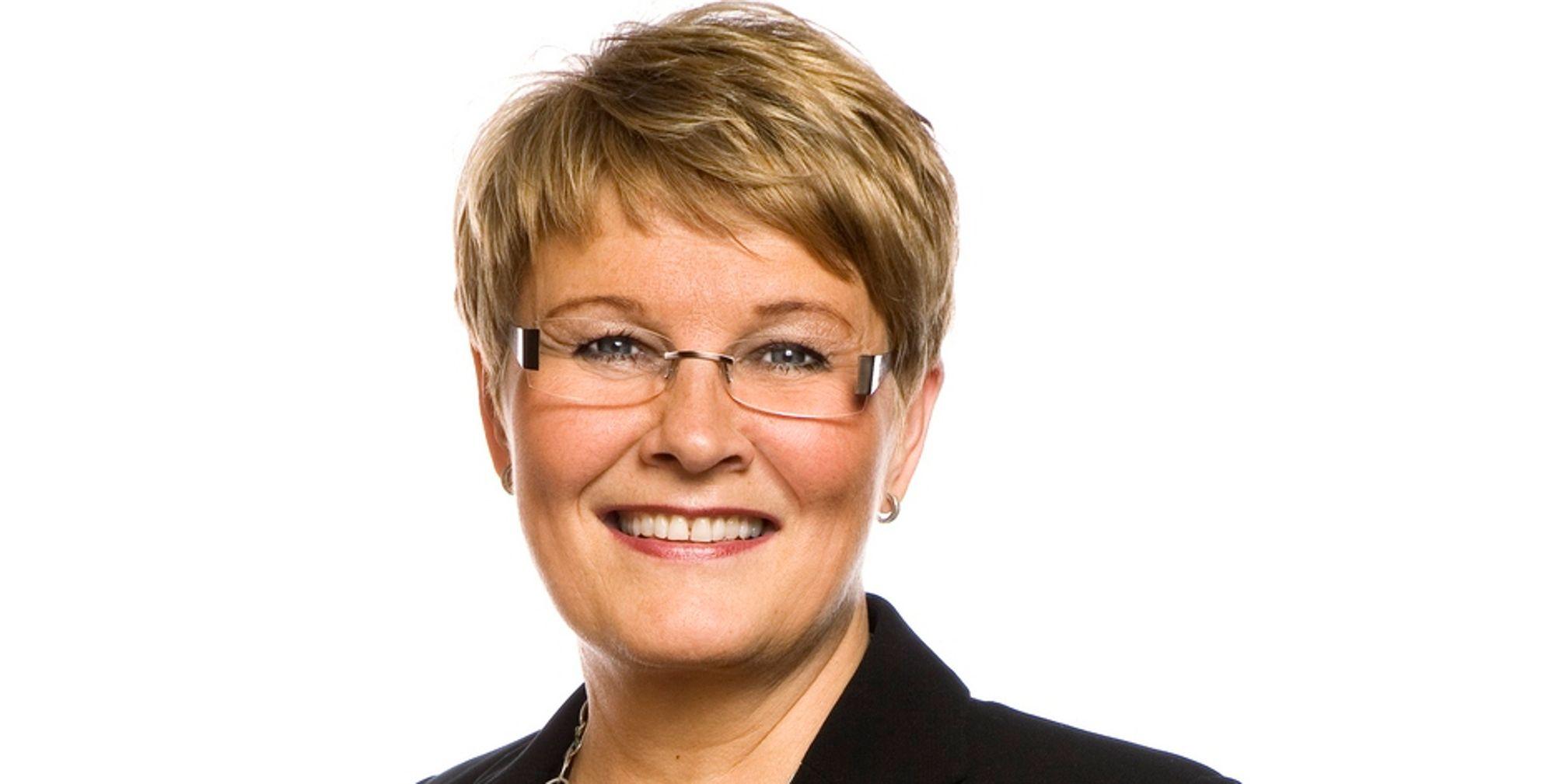 VIL STOPPE SLØSING: Den svenske næringsministeren Maud Olofsson (Centerpartiet) legger nye 300 millioner kroner på bordet for å få til mer energieffektivisering.