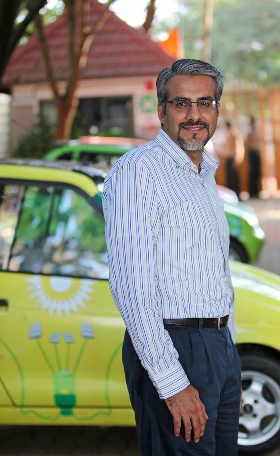 Chetan Kumaar Maini er sjefingeniør og grunnlegger av Reva som produserer elbiler i Bangalore, India.