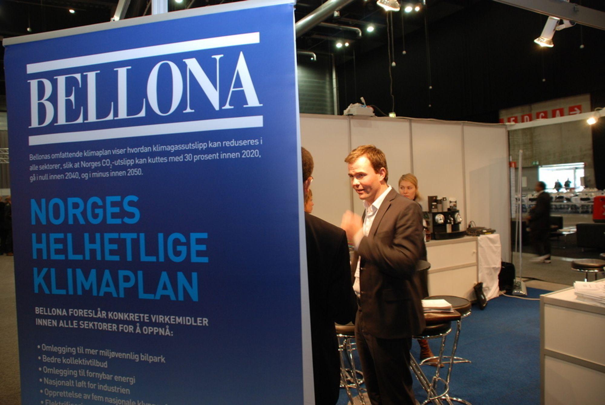 NYE VEIER: Bellonas tidligere nestleder Marius Holm skal hjelpe Burson-Marstellers kunder i kampen for bedre rammevilkår. Selskapet mener at energi og klima er noen av vår tids kjernesaker.