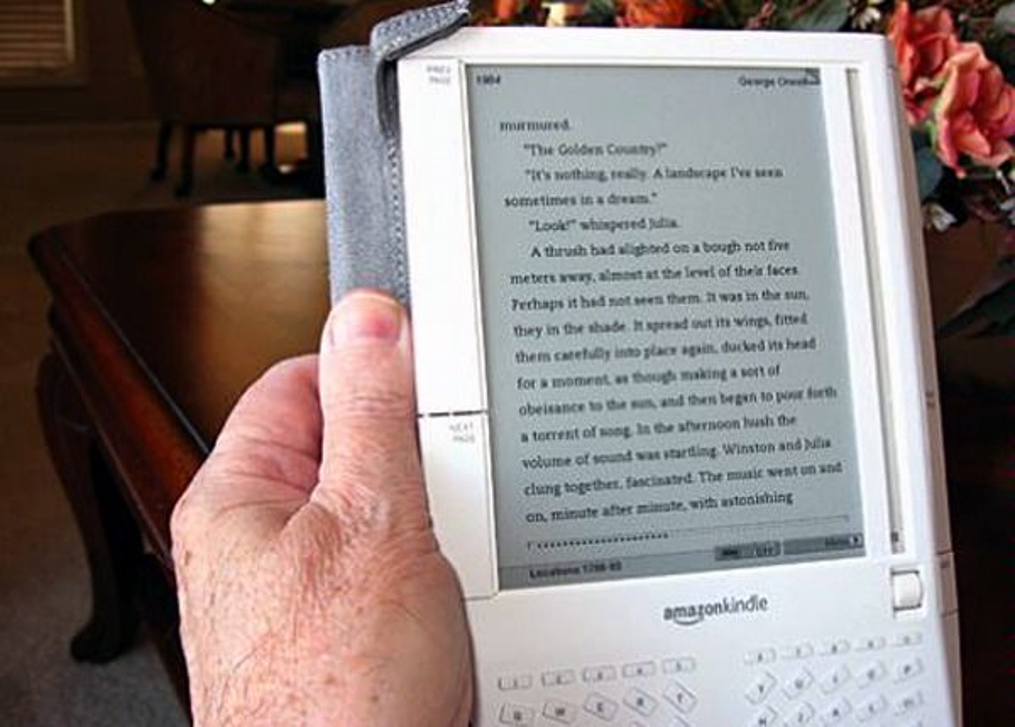 Amazons leseplate Kindle kommer til Norge.