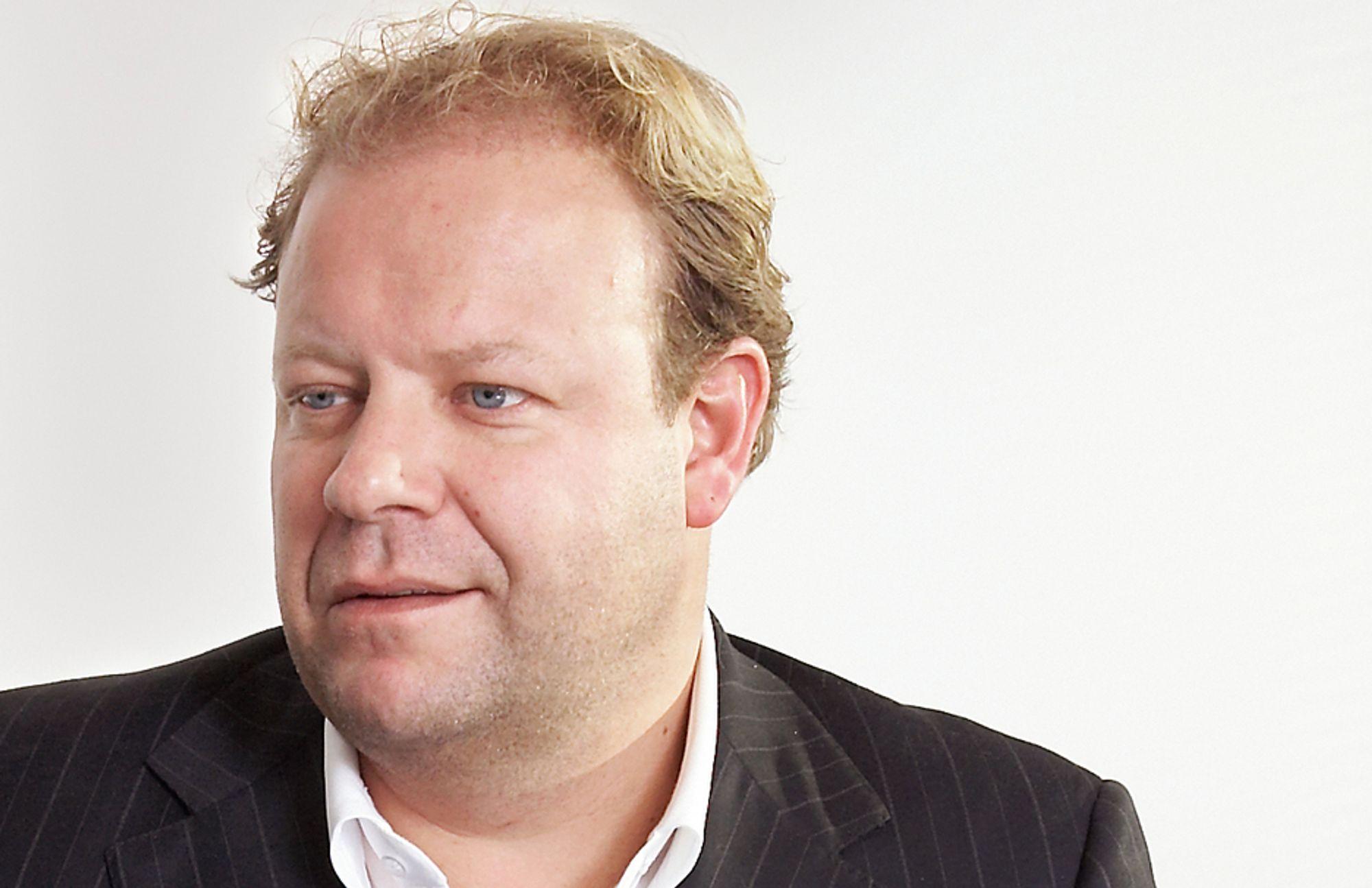 LYS I TUNNELEN: For BWG Homes ser det ut som om det verste er over. Konsensjef Lars Nilsen kan glede seg over økende salg.