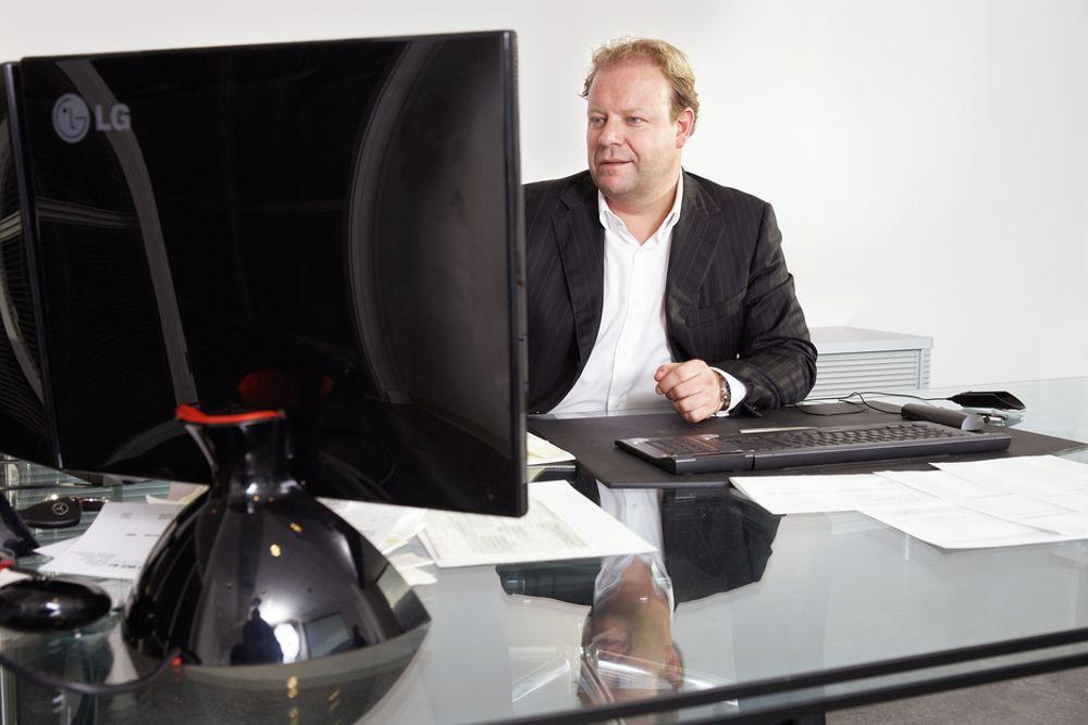 POSITIV: Konsernsjef Lars Nilsen i BWG Homes sier rammebetingelsene for 2010 er positive.