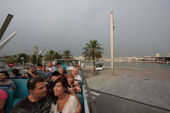 TURISTMAGNET: I fjor møtte turistene som besøkte havnebyen Barcelona tomme bassenger og  vannløse fontener.
