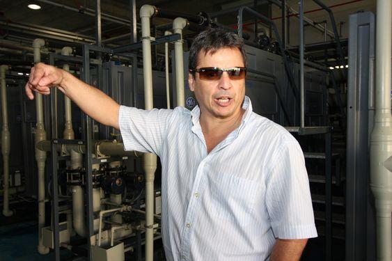 VIKTIG: - Vannindustrien har blitt et viktig satsingsområde for GE, sier  Juan Carlos De Armas Torrent leder GEs område for avsaltningsanlegg i Europa, Midt Østen og Afrika.