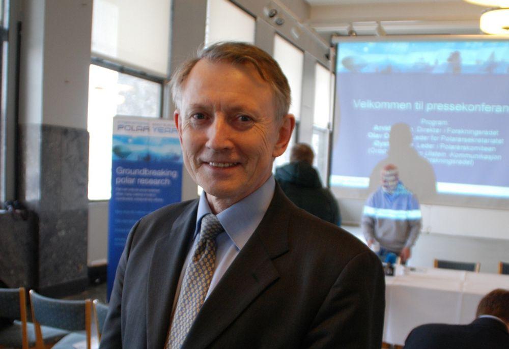 Forskningsrådets direktør Arvid Hallén.