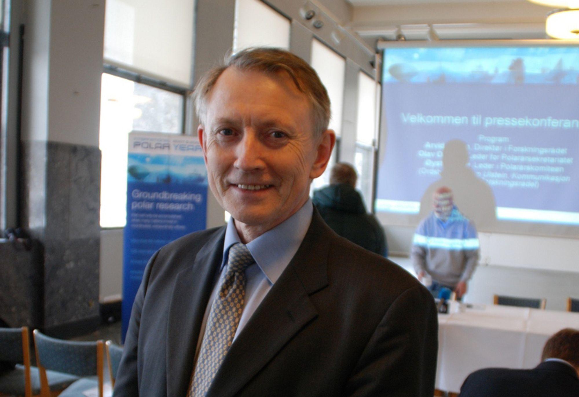 Arvid Hallén vil ha nær 1,8 milliarder ekstra til forskning i 2011.