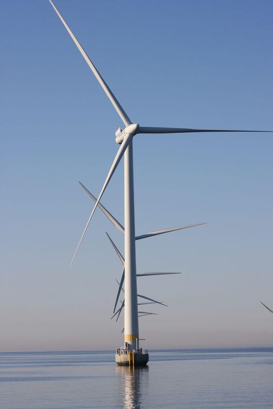 Lillgrund Sverige vindpark Vattenfall 100 MW bunnfaste havvindmøller