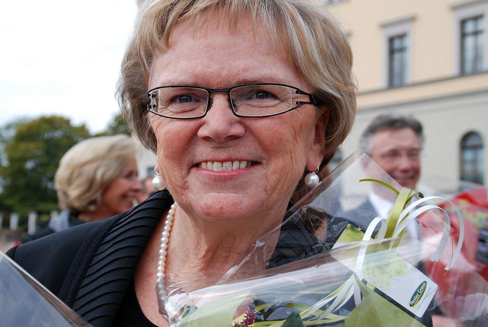 FRA BYGG TIL ANLEGG: Magnhild Meltveit Kleppa vil gjøre landet mindre som samferdselsminister, og vil jobbe hardt for å få oppfylt NTP.