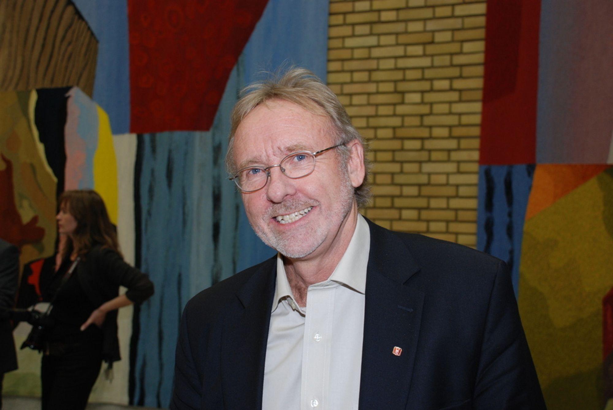 ØNSKER KLIMARÅD: Arbeidsministeren bør opprette et klimaråd for arbeidslivet, mener Unios leder Anders Folkestad.