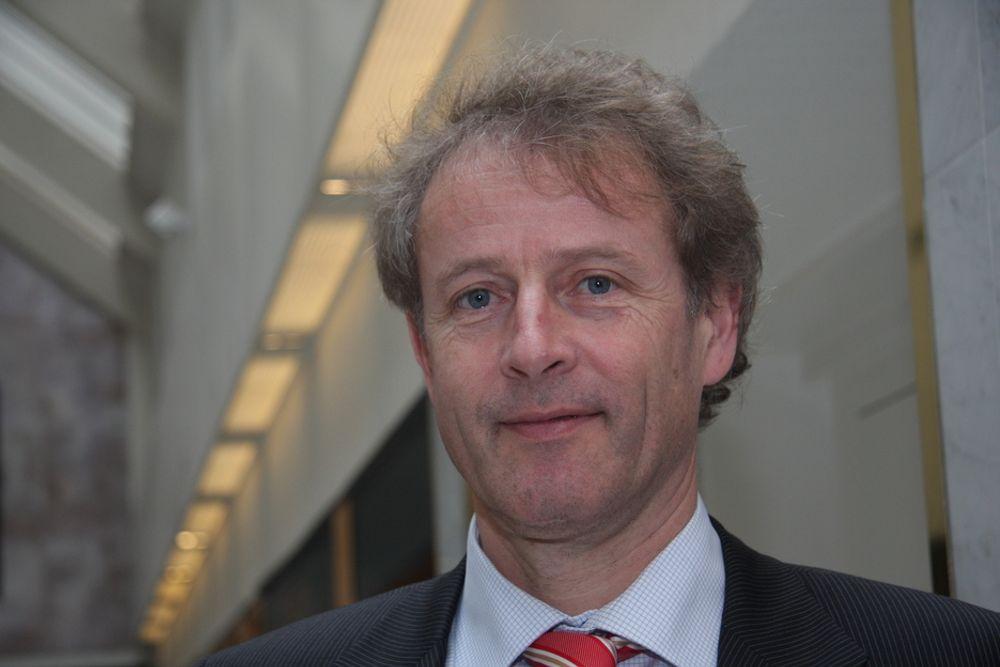 NY START: Øystein Løseth tar over Vattenfall-roret i dag. Lars G. Josefsson går av med pensjon.