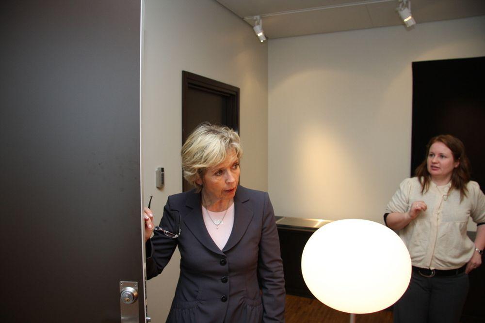MILLIARDOPPDRAG: Forsvarsminister Anne-Grethe Strøm-Erichsen står i spissen for forsvarsinnkjøp på rundt 60 milliarder kroner de neste årene.