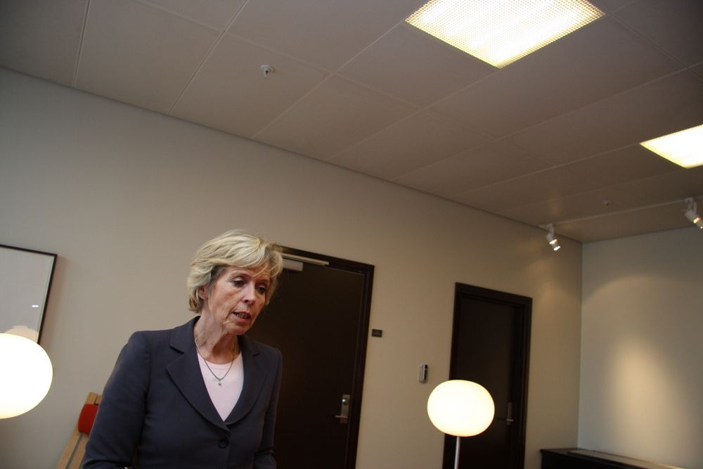 Anne-Greteh Strøm-Erichsen, forsvarsminister
