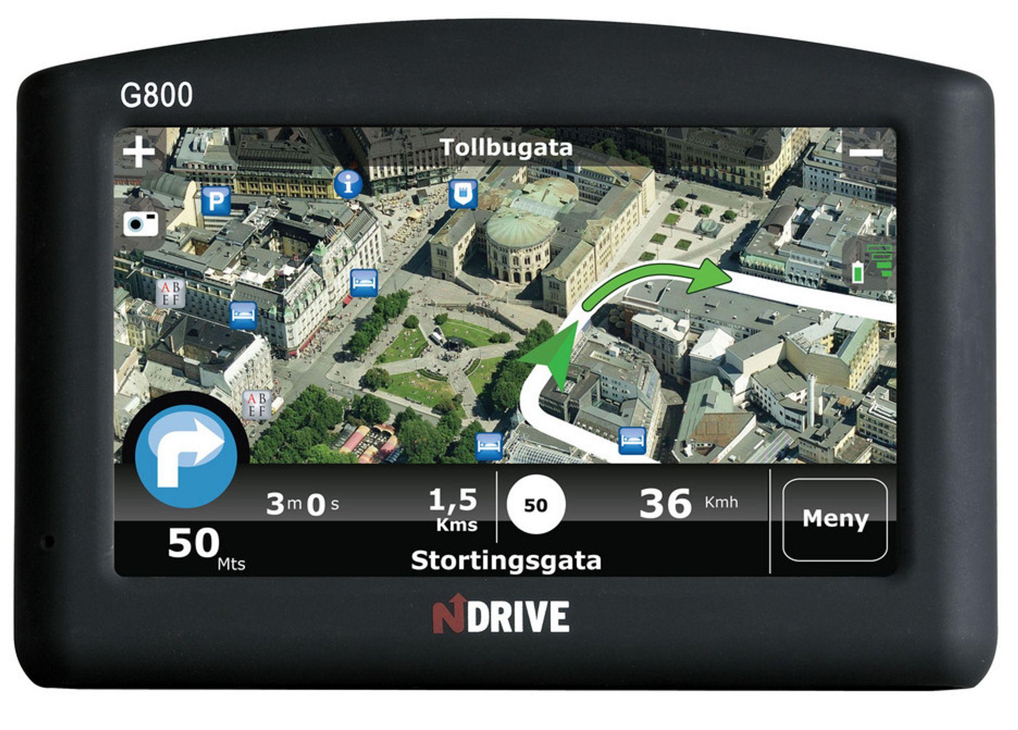 FOTO GPSDet kan være enklere og orientere seg i bilder av området enn i et datagenerert kart.