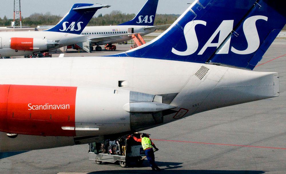 """NYE KUTT: SAS-konsernet skal kutte fire milliarder kroner gjennom strategiplanen """"Core SAS"""", men det er ikke nok. Nå planlegger de nye milliardkutt, ifølge Finansavisen."""