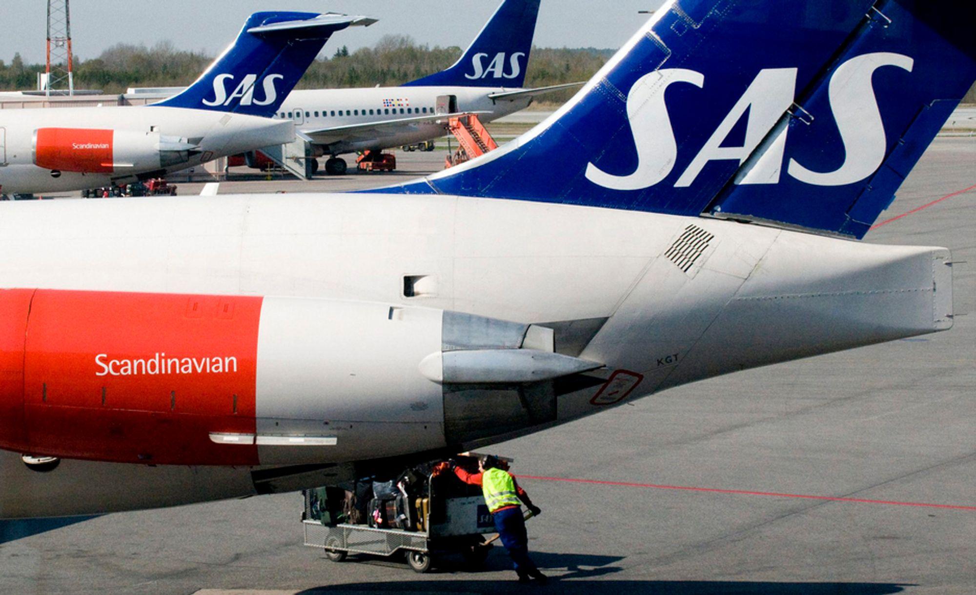 SAS-flyene slipper nå ut 128 gram CO2 per passasjerkilometer - mindre enn enn norsk gjennomsnittsbil.