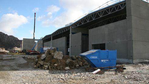 Lager skreddersydd betong