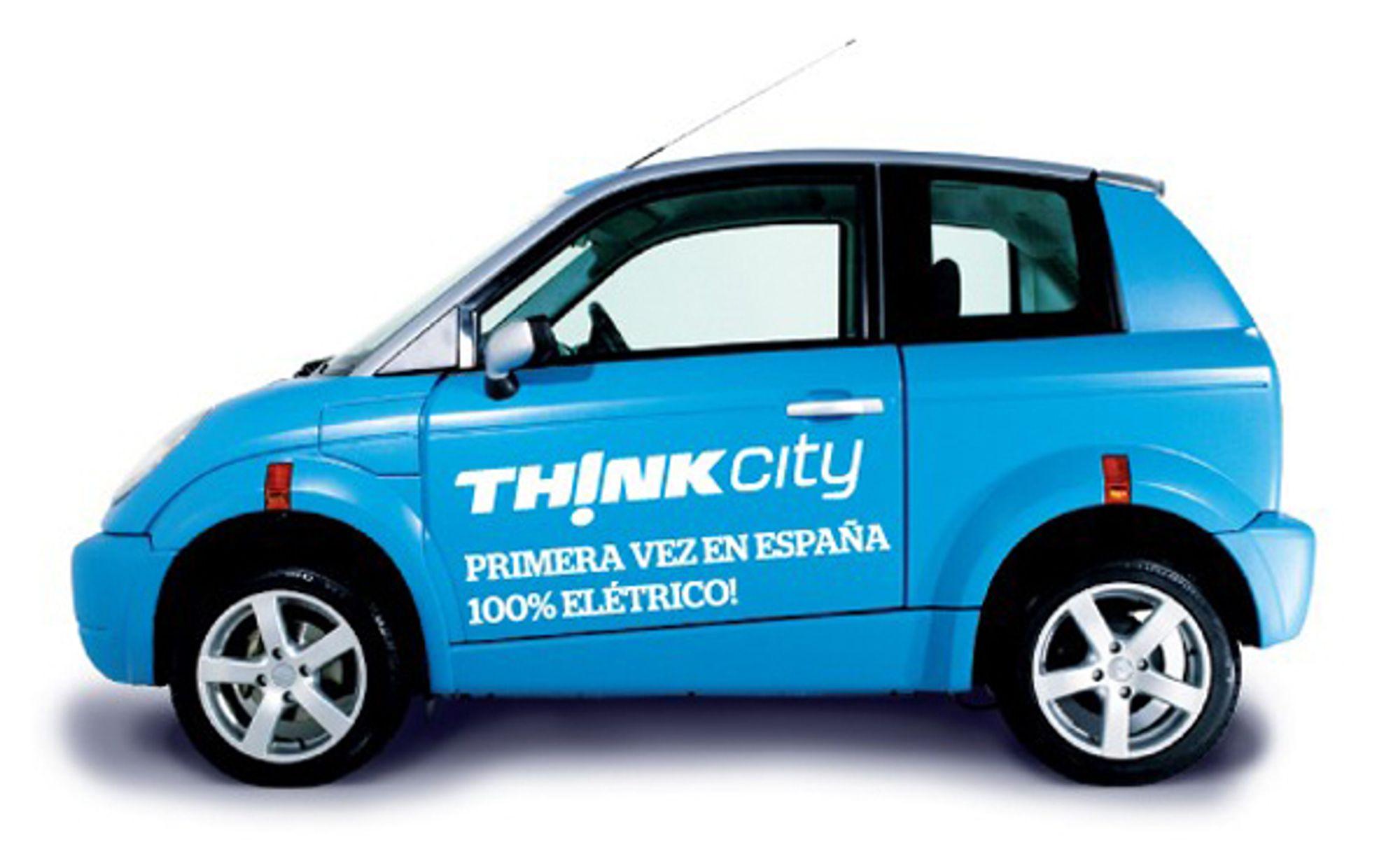 Om noen uker ruller de første Think City ut på spanske veier. I løpet av ett år skal 550 elbiler leveres.