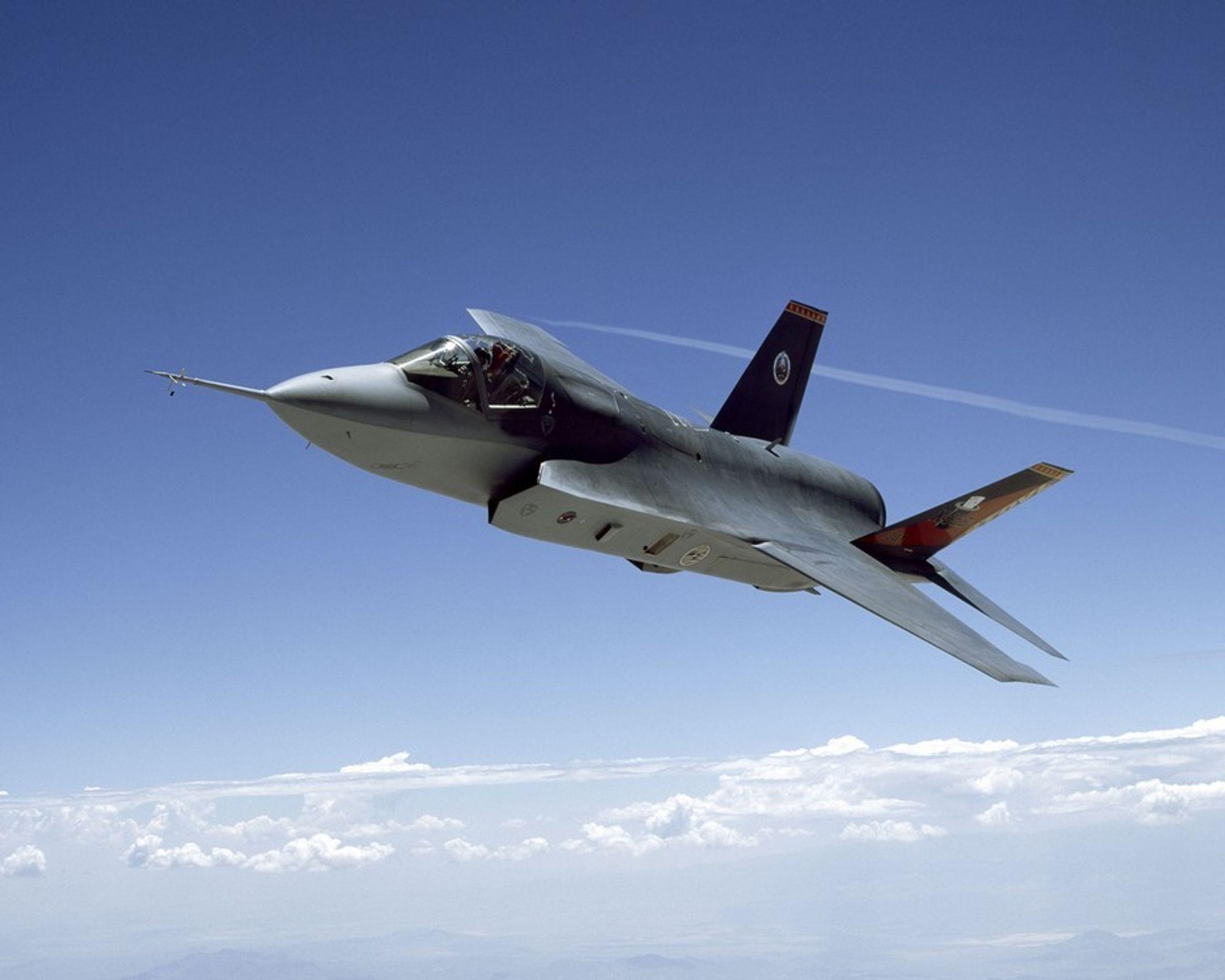 NORSK?: Muligheten for at Norge kjøper amerikanske kampfly om ti år øker i og med at Lockheed Martin nå viser sterkere interesse for norsk-amerikansk industrisamarbeid.