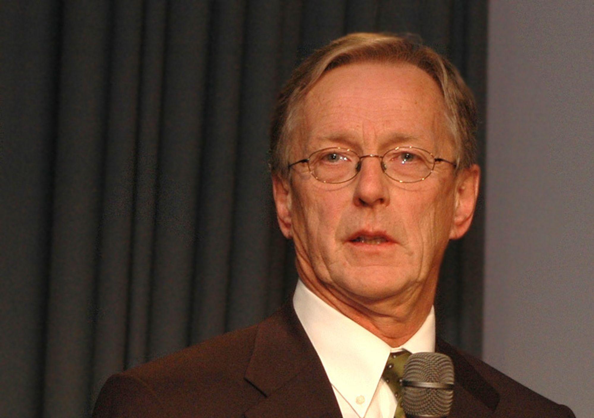 Per Terje Vold blir i sjefsstolen i OLF ut 2009.