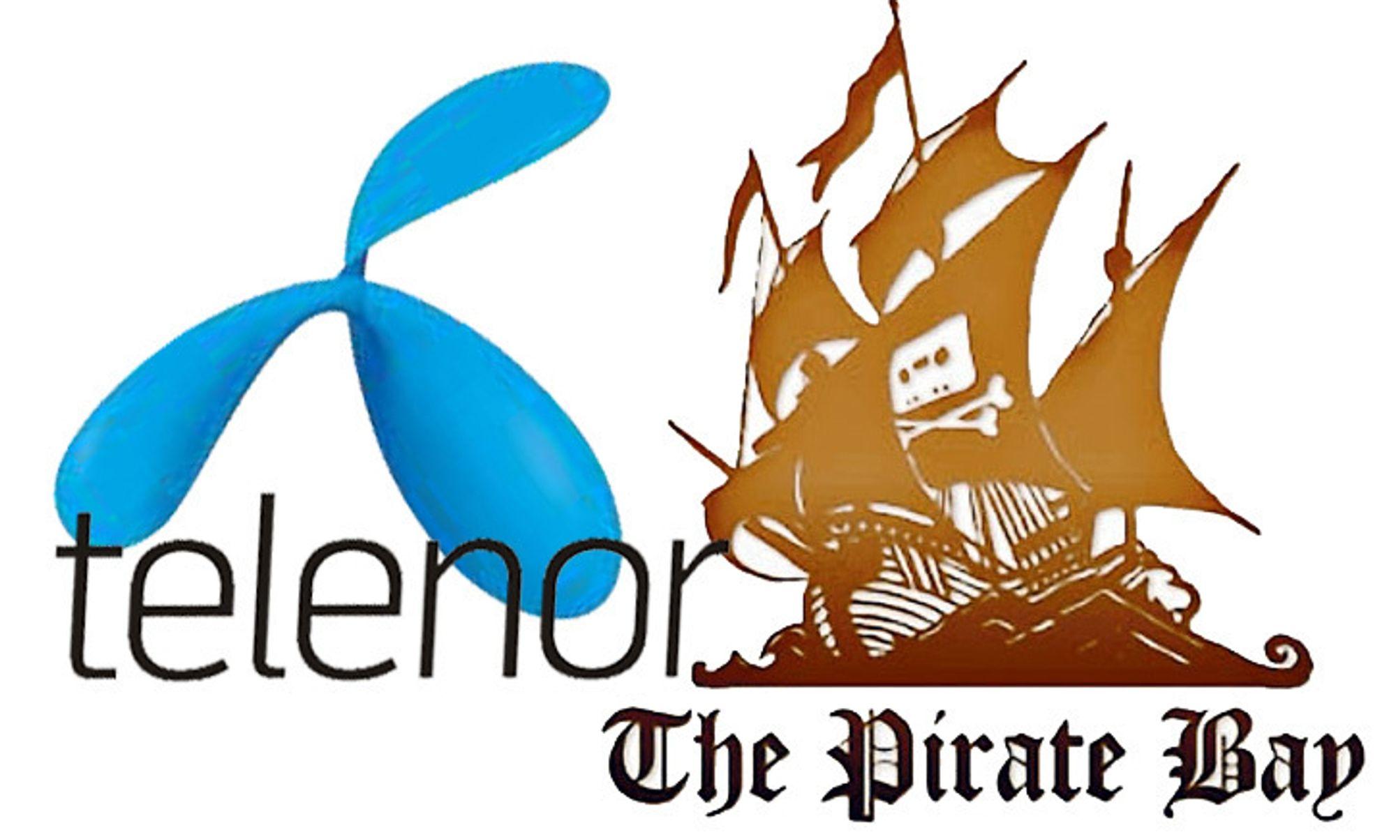 DOMMEN UTSATT: Pirate Bay kan bli stengt for Telenors kunder.