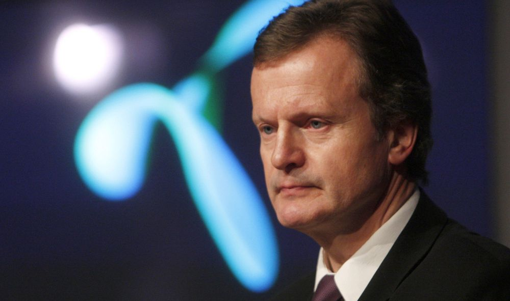 KALDT OG UGJESTMILDT: Telenors affærer i Russland og Ukraina har bydd på mye hodebry for Telenor-sjef Jon Fredrik Baksaaas.