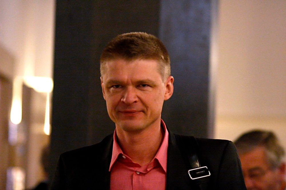 PÅ JAKT: Henrik Pontén, ansvarlig jurist i Antipiratbyrån.