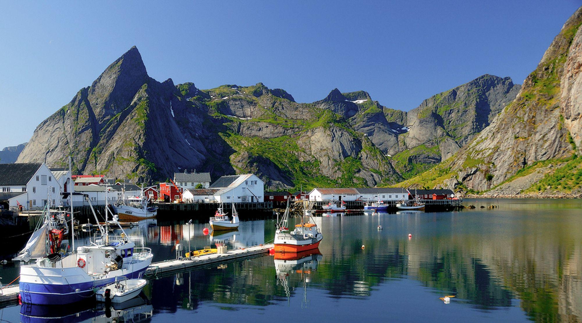 VIRTUELT: Nå trenger du ikke engang dra til Lofoten for å få en opplevelse av det vakre landskapet.
