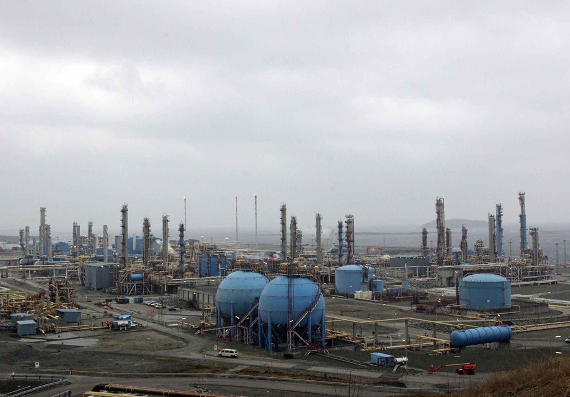 PRISVEDERDIG: Statoils driftsavdeling for Kårstø er hedret med HMS-pris for 2009.