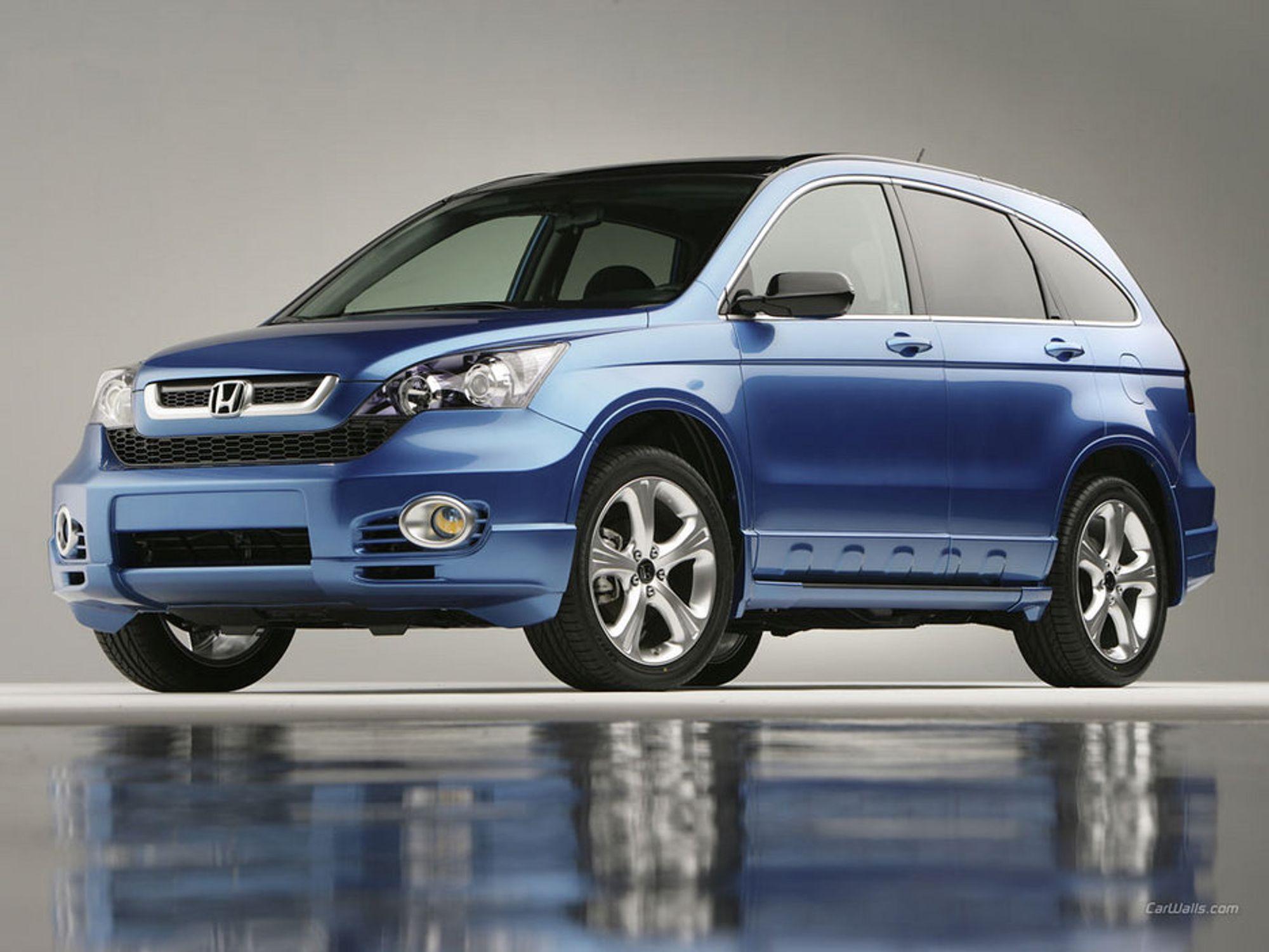 Blir ny: Honda CR-V kommer i år i ny utgave. En av nyvinningene skal det gjøre enda mer behagelig å koble inn fartsholderen i rushtrafikken.
