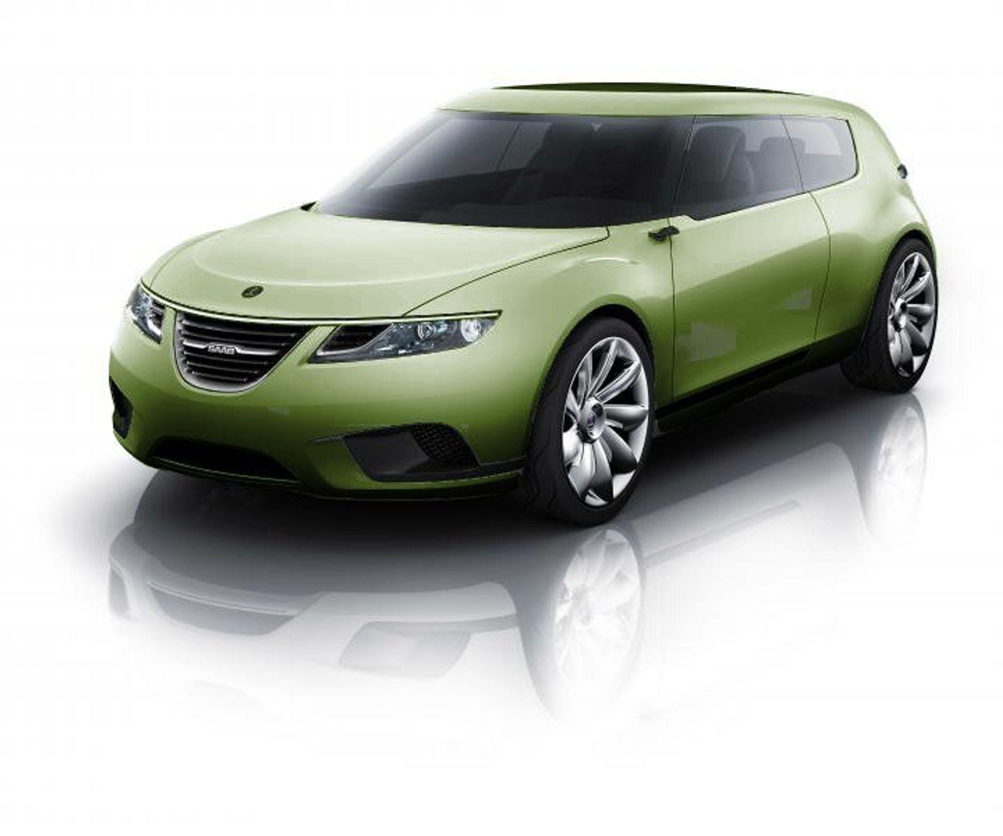 USIKKERT: SAAB planlegger produskjon av denne modellen allerede i januar, men om det blir en realitet er et spørsmål. I midten av januar avgjør GM SAABs sjebne.