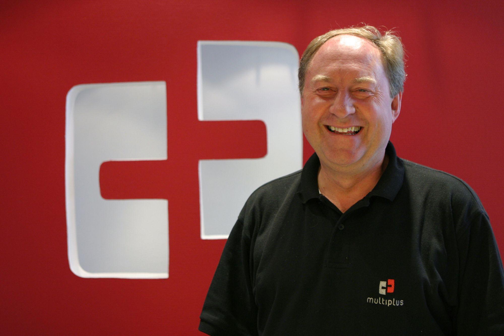 BLIR SVENSK: Multiplus Solutions og tjenestedirektør Per Olav Helgeland er i ferd med å havne på svenske hender.