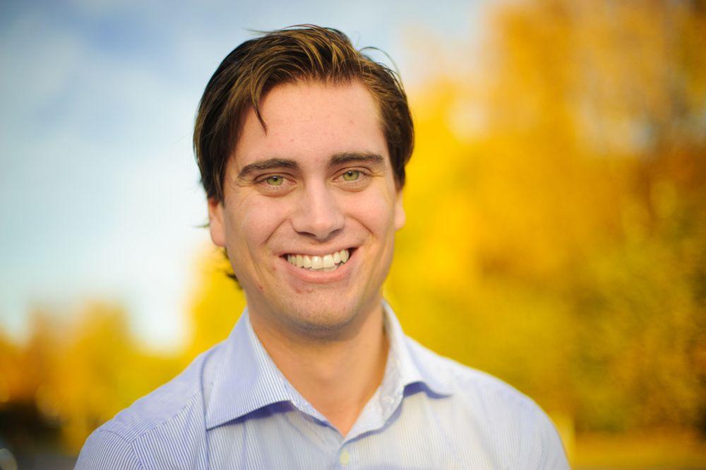 NYANSATT: Andreas Byberg synes det er for tidlig å tenke på om han vil bli leder.