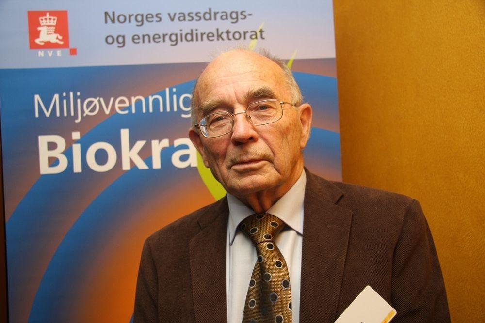 TA REGNINGEN: - Produsenten som har glede av utenlandsforbindelsen bør betale for dem, mener energiveteran Erling Disen, som advarer mot omfattende fornybarinvesteringer i Norge.