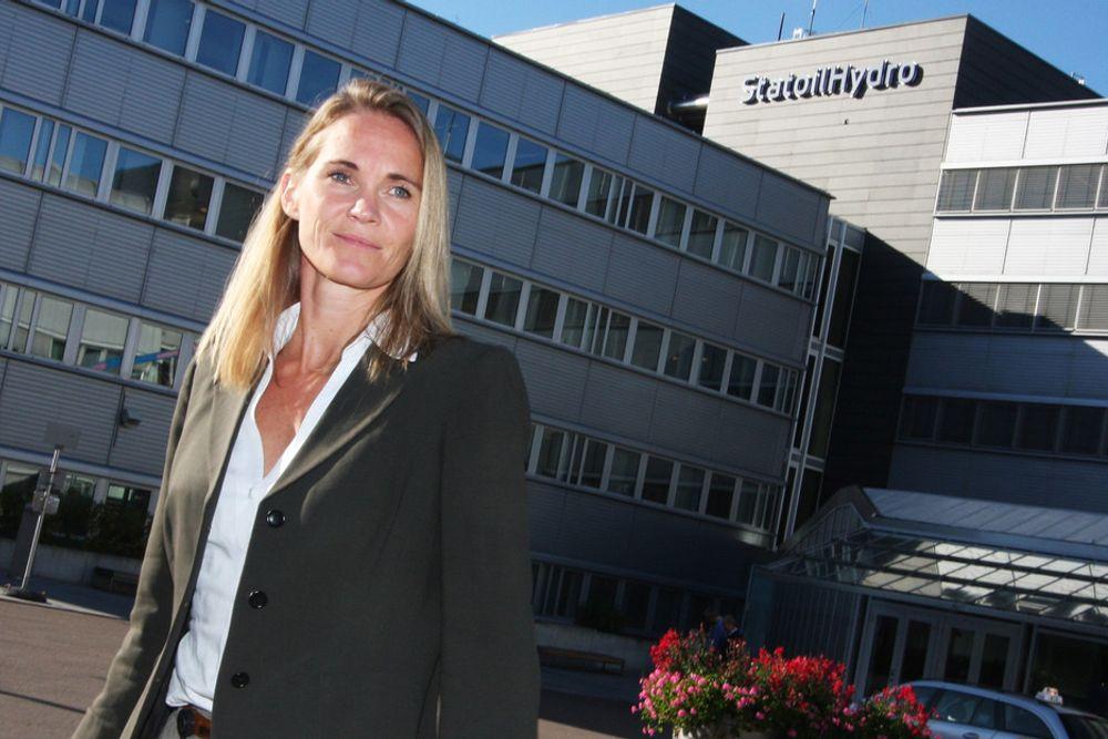 KLAR: Vi ønsker å starte boringen på våre lisenser så fort som mulig, sier Statoil-direktør Hege Marie Norheim.