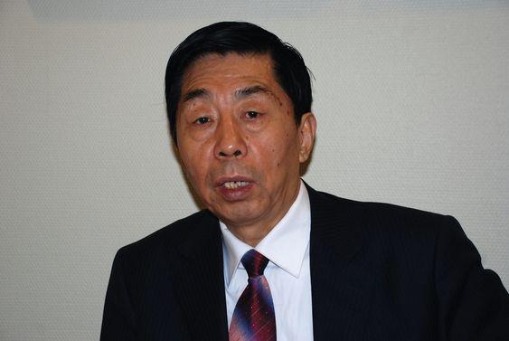Ma Xuelu, president i lavutslippsbyen Baodings forskningsforbund