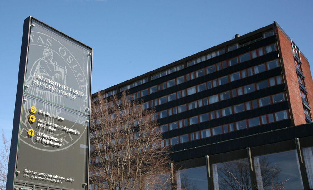 Universitetet i Oslo får 20 millioner kroner fra StatoilHydro.