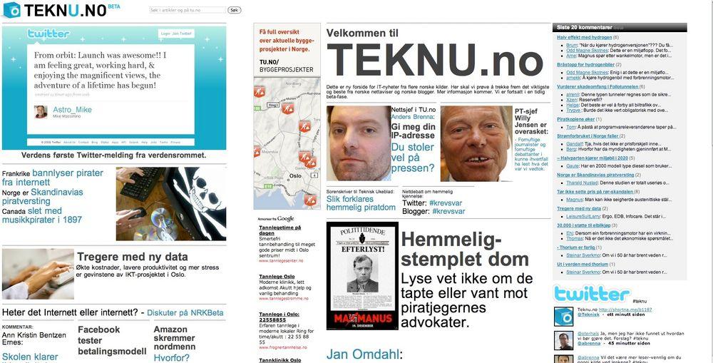 Sjekk norske IT-nyheter på Teknu.no