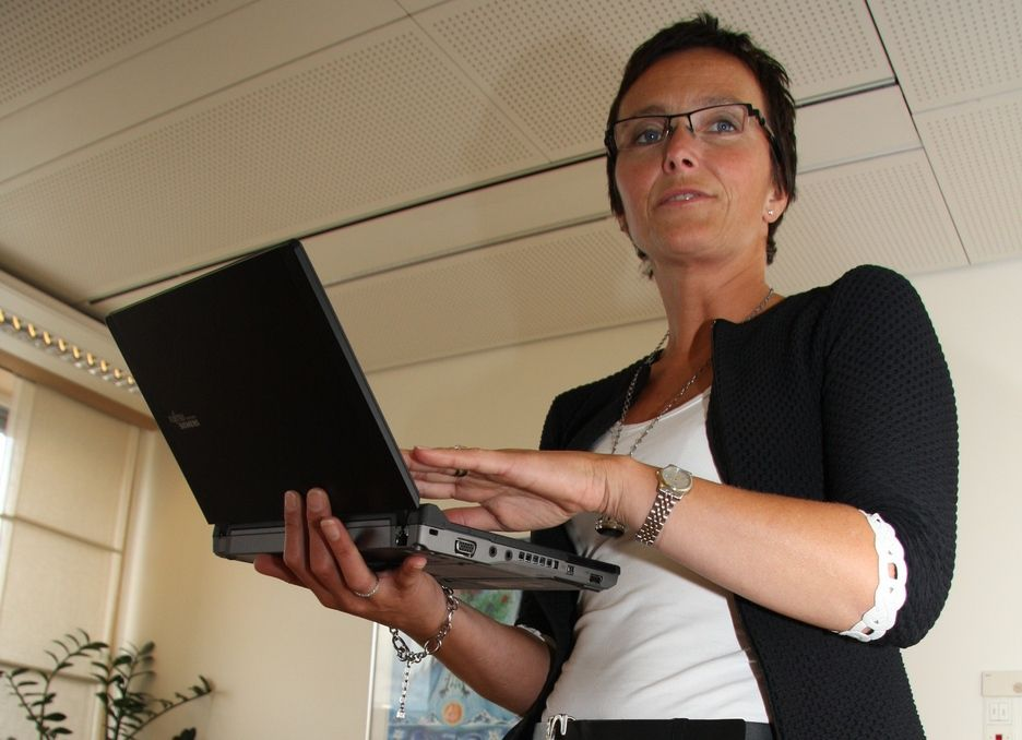 Motstrøms: IT-minister Heidi Grande Røys sliter med medarbeidere som holder seg til kjente farvann.