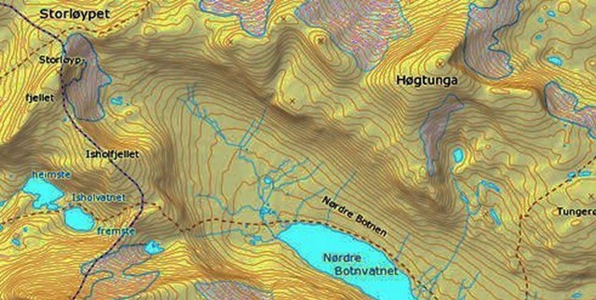 Kart Statens kartverk