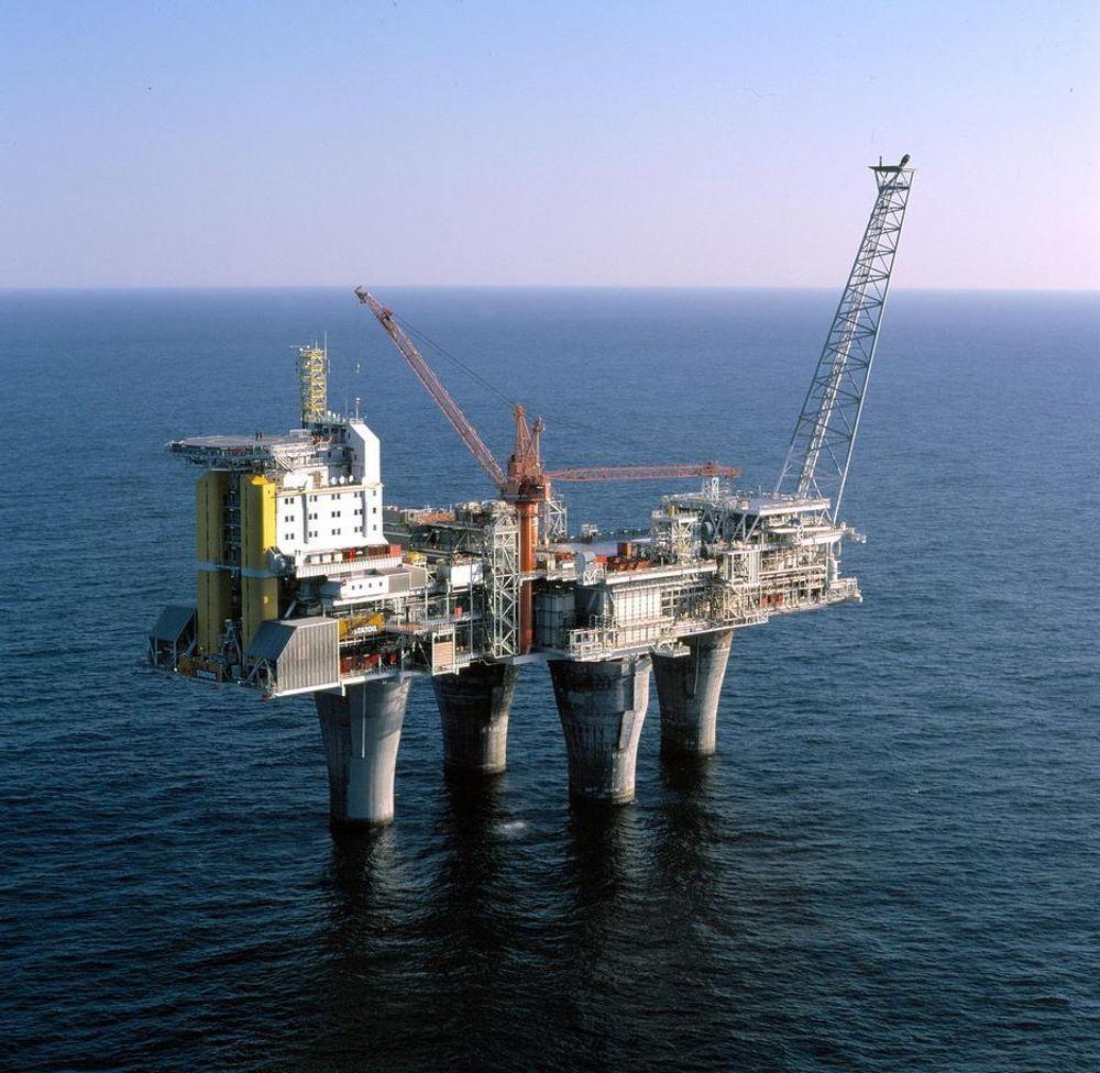 De nye produksjonsrørene til Troll A-plattformen i Nordsjøen blir kansellert som følge av den lave oljeprisen.