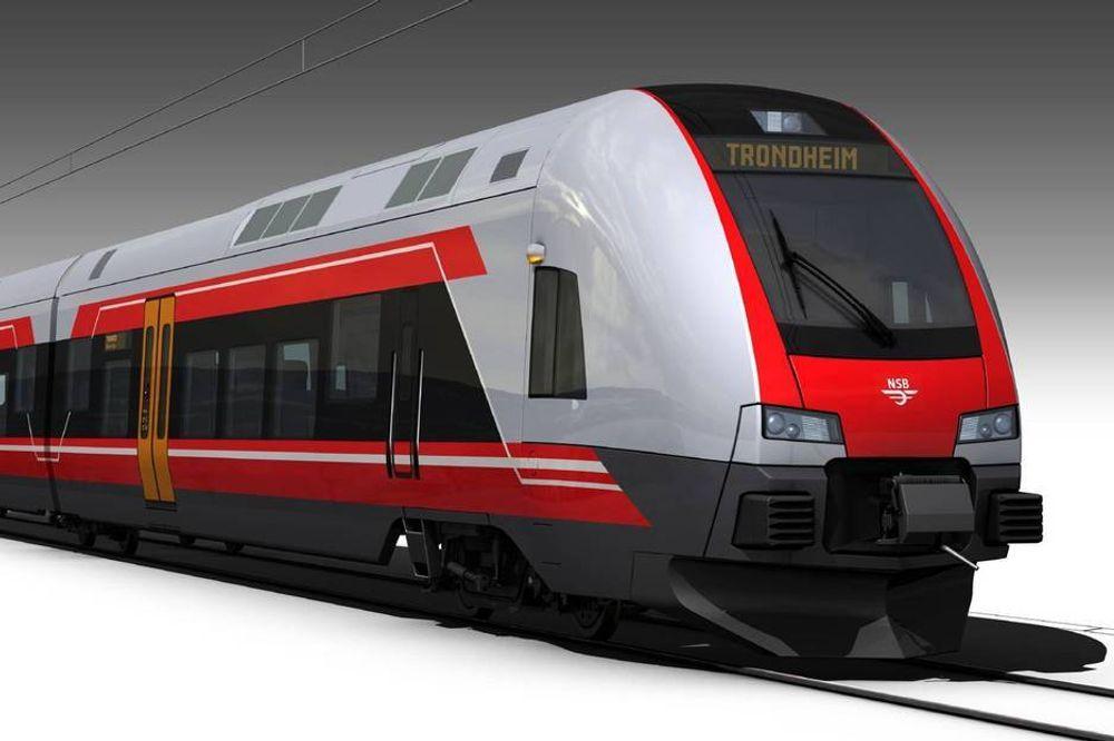 NSB får snart nye tog. Når NTP legges frem til våren, skal de også få mer penger til å kjøre tog for.