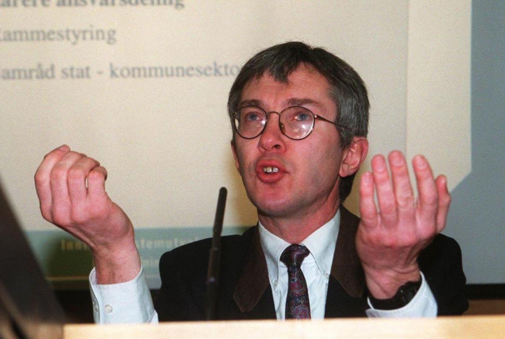 Jørn Rattsø, styreleder i Enova.