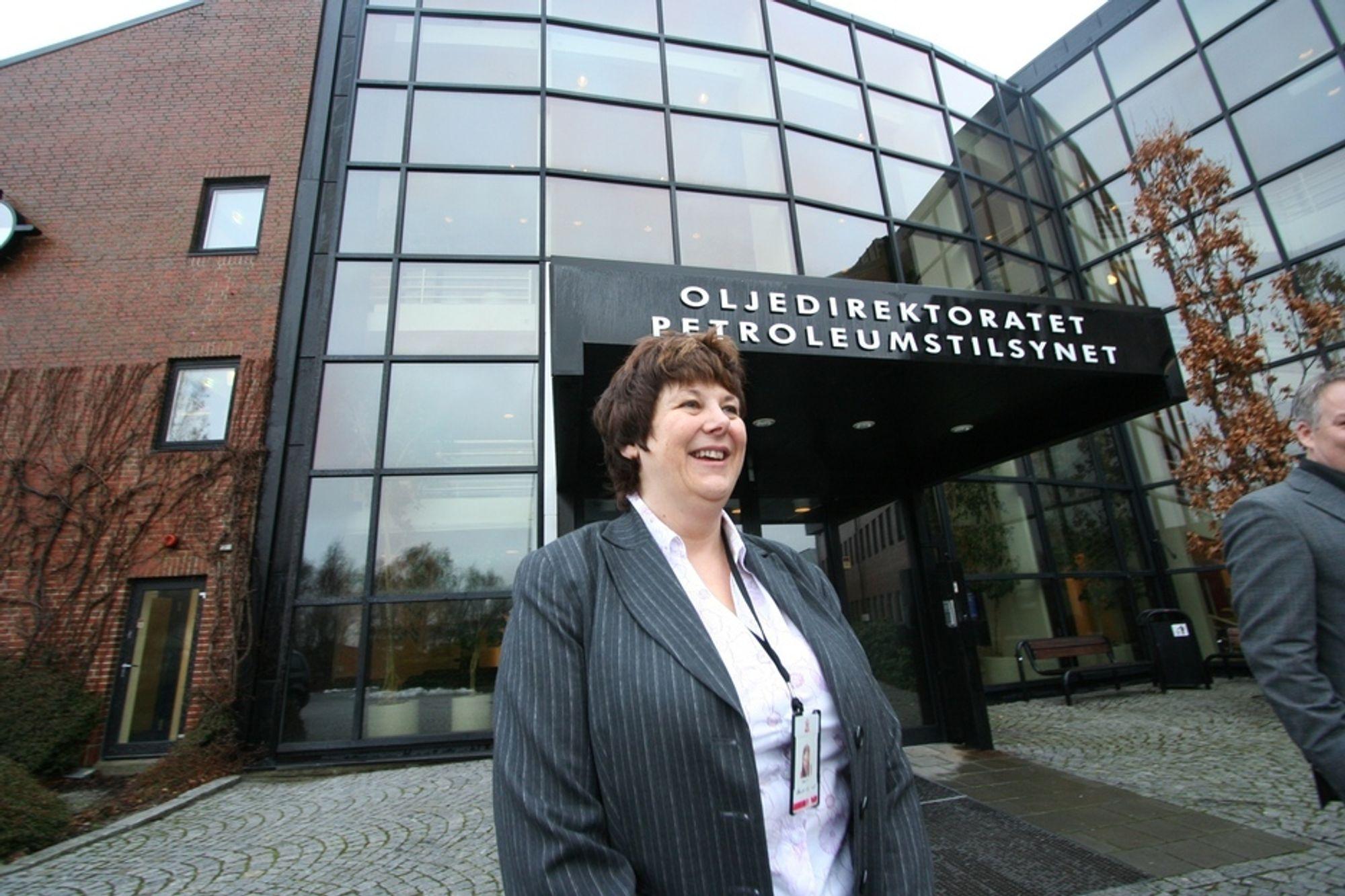INGEN PRISUTDELING: Oljedirektør Bente Nylad og hennes stab fant ingen verdige kandidater for årets IOR-pris.