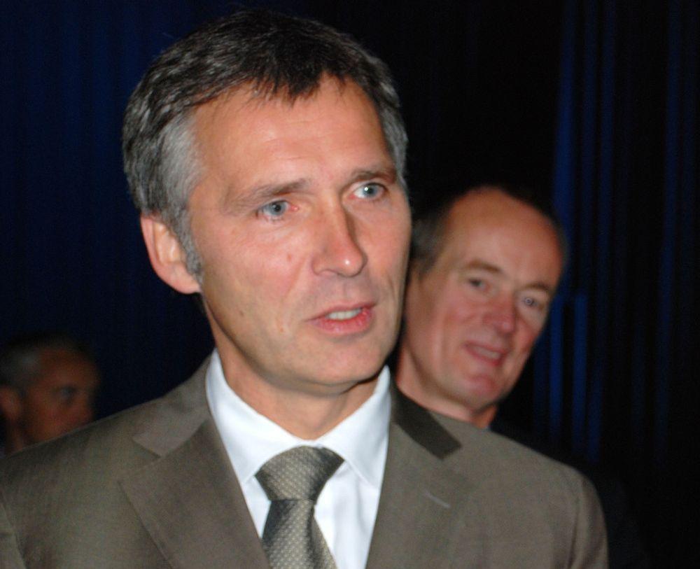 Jens Stoltenberg åpnet den nye fornybarmessen Scan-REF i dag.