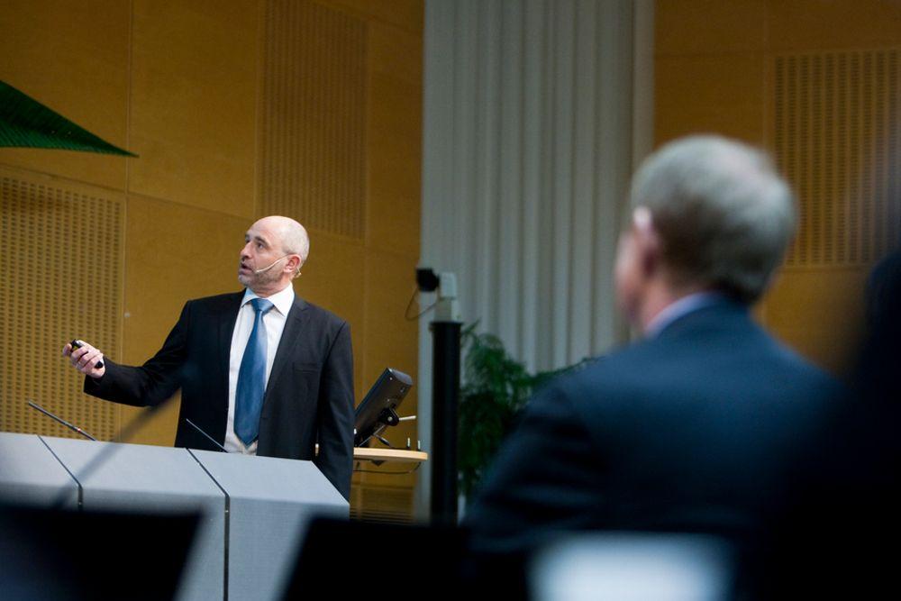 TEST: Arbeids- og velferdsminister Dag Terje Andersen vil gi mer penger til Nav for å teste IT-systemer og gjøre dem mer effektive.