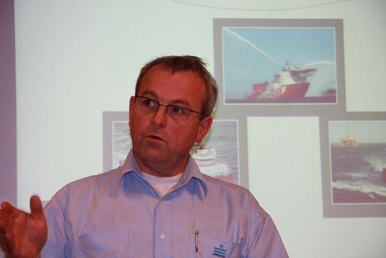 Prosjektsjef i Farstad Shipping, Børge Nakken.