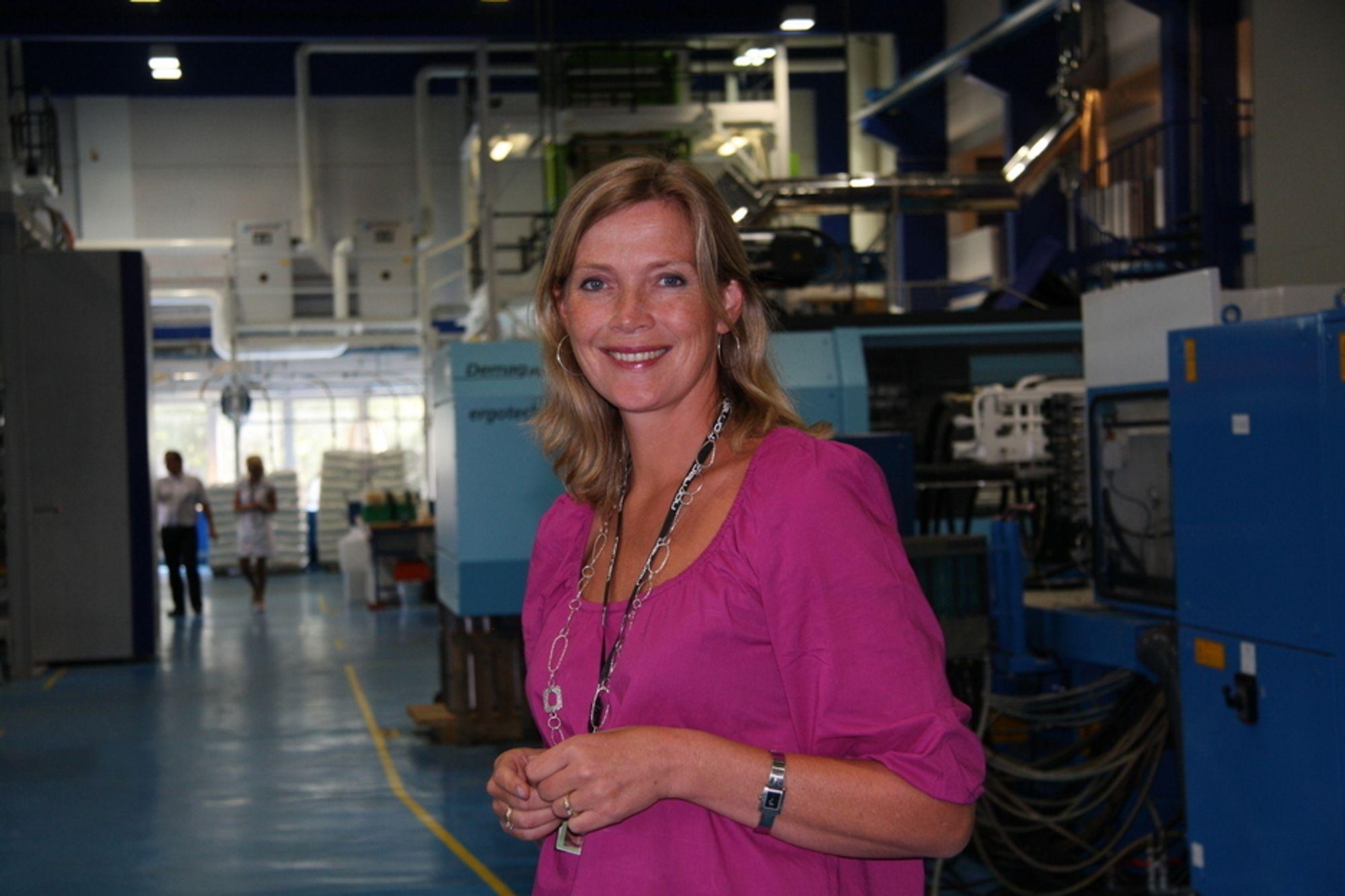 MED I RÅD: Norner-direktør Tine Rørvik lurte først på om det var noen som tullet med henne da Trond Giske ringte.