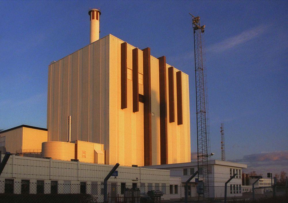 OPPGRADERT: Kjernekraftverket Forsmark er nylig oppgradert til å drive i ytterligere 25 år.