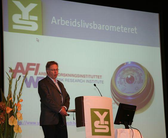 Arild H. Steen, forsker og daglig leder ved Arbeidsforskningsinstituttet.