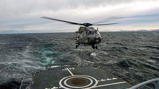 Nye helikoptre er unyttige for fregattene